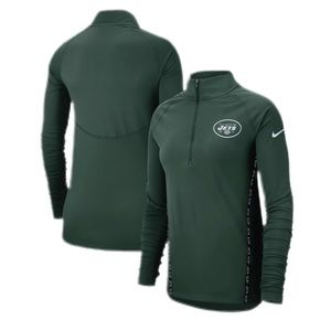 Nike New York Jets Core Half-Zip Pullover Jacket